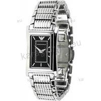 Ρολόι ARMANI γυναικείο τετράγωνο με μπρασελέ 22mm