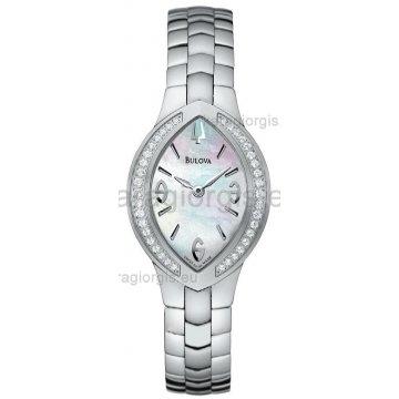 Ρολόι BULOVA ΑCCUTRON με brilliad γυναικείο μπρασελέ 83fce54952d