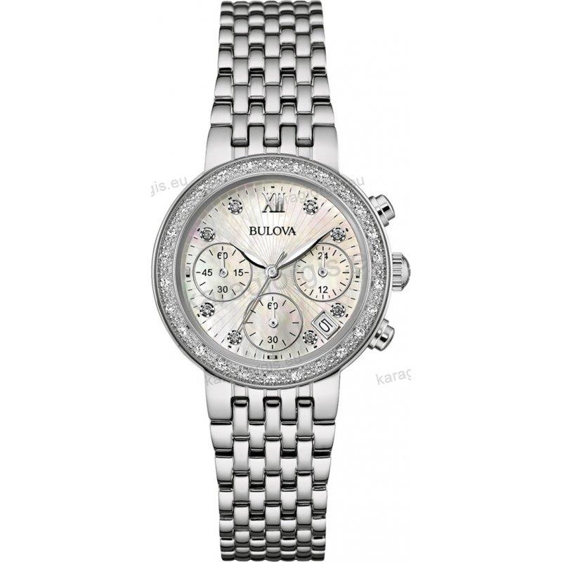 Ρολόι BULOVA Ladies Diamond Collection ... 5e4cc364a78