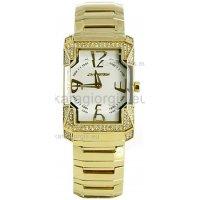 Ρολόι CHRONOTECH γυναικείο επίχρυσο με μπρασελέ, 25mm
