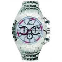 Ρολόι CHRONOTECH χρονογράφος με μπρασελέ 46mm
