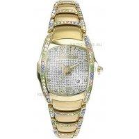 Ρολόι CHRONOTECH γυναικείο επίχρυσο με μπρασελέ, 32mm