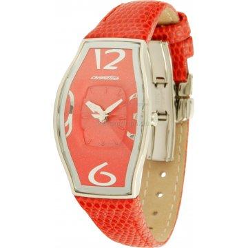 Ρολόι CHRONOTECH γυναικείο με δερμάτινο λουράκι 30mm