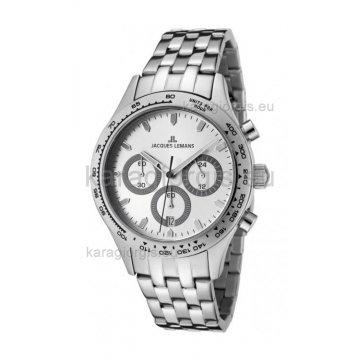 Ρολόι JACQUES LEMANS ανδρικό με μπρασελέ 40mm