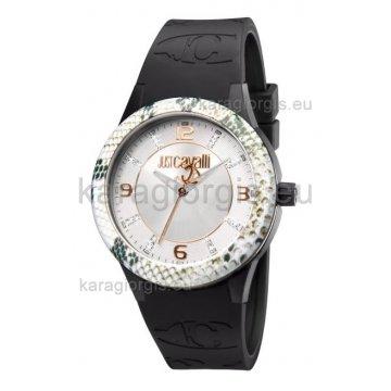 Ρολόι JUST CAVALLI με λουράκι σιλικόνης 38mm