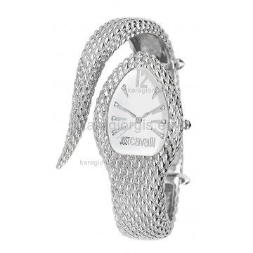 Ρολόι JUST CAVALLI βραχιόλι σε σχήμα φιδιού