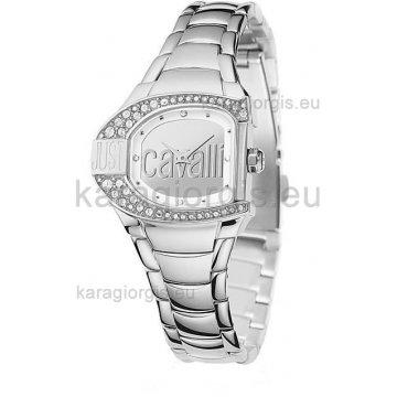 Ρολόι JUST CAVALLI γυναικείο με μπρασελέ 30mm 25c370f7af3