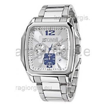 Ρολόι JUST CAVALLI χρονογράφος με μπρασελέ 40mm 0f8c8c1841e