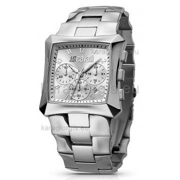 Ρολόι JUST CAVALLI χρονογράφος με μπρασελέ 70a3bc22782