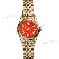 Ρολόι MICHAEL KORS γυναικείο με επίχρυσο ανοξείδωτο μπρασελέ 26mm