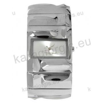 Ρολόι Roberto Cavalli γυναικείο τετράγωνο με μπρασελέ σε βραχιόλι 33*34mm