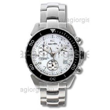 Ρολόι SECTOR χρονογράφος με μπρασελέ 40mm