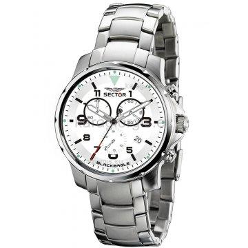 Ρολόι SECTOR χρονογράφος με μπρασελέ 43mm