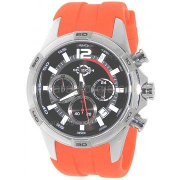 Ρολόι SPAZIO 24 αντρικό χρονογράφος με λουράκι σιλικόνης 42mm