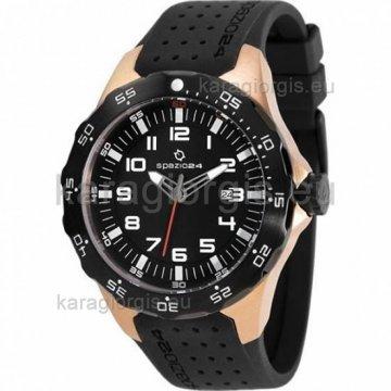 Ρολόι SPAZIO 24 αντρικό με λουράκι σιλικόνης 42mm
