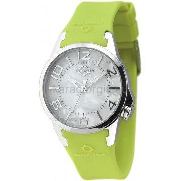 Ρολόι SPAZIO 24 γυναικείο με λουράκι σιλικόνης 37mm